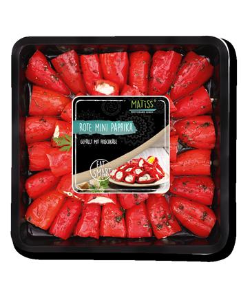 Rote Mini Paprika